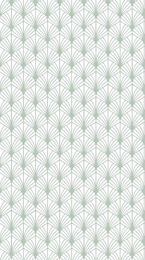 motif scandinave vert amande -Hélène Pautre-déco d'intérieur