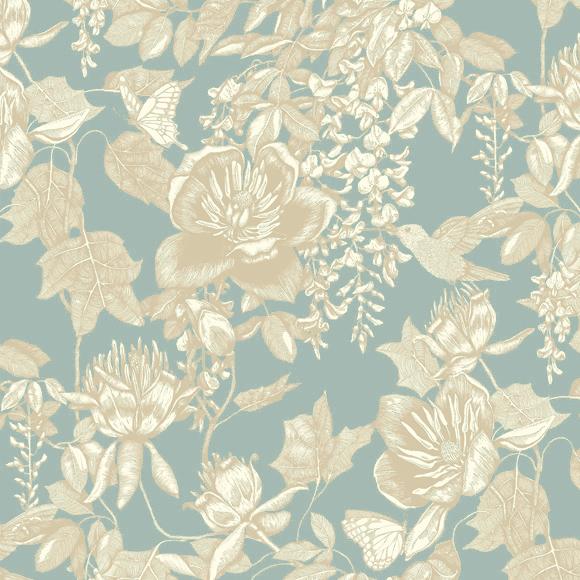 motif-papier-peint-anglais-fleuri-deauville-cabourg-pays-d-auge