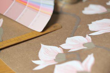 papier-peint-cole-and-son-magnolia-or