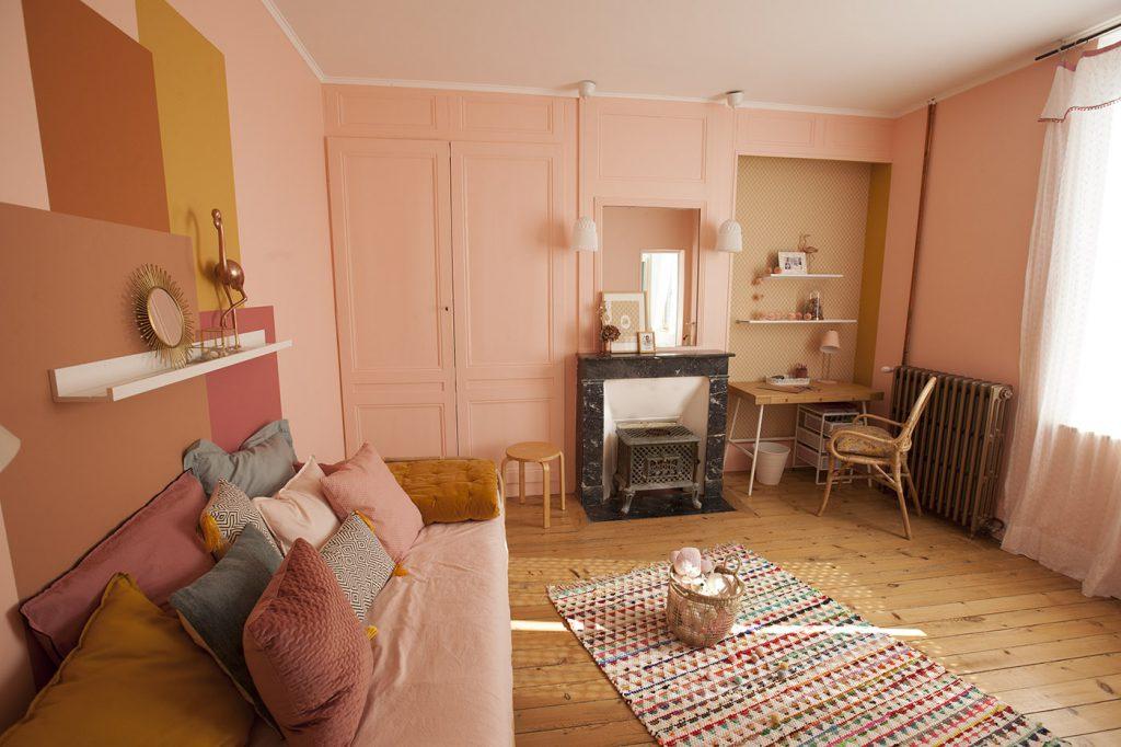 chambre enfant vintage exotique