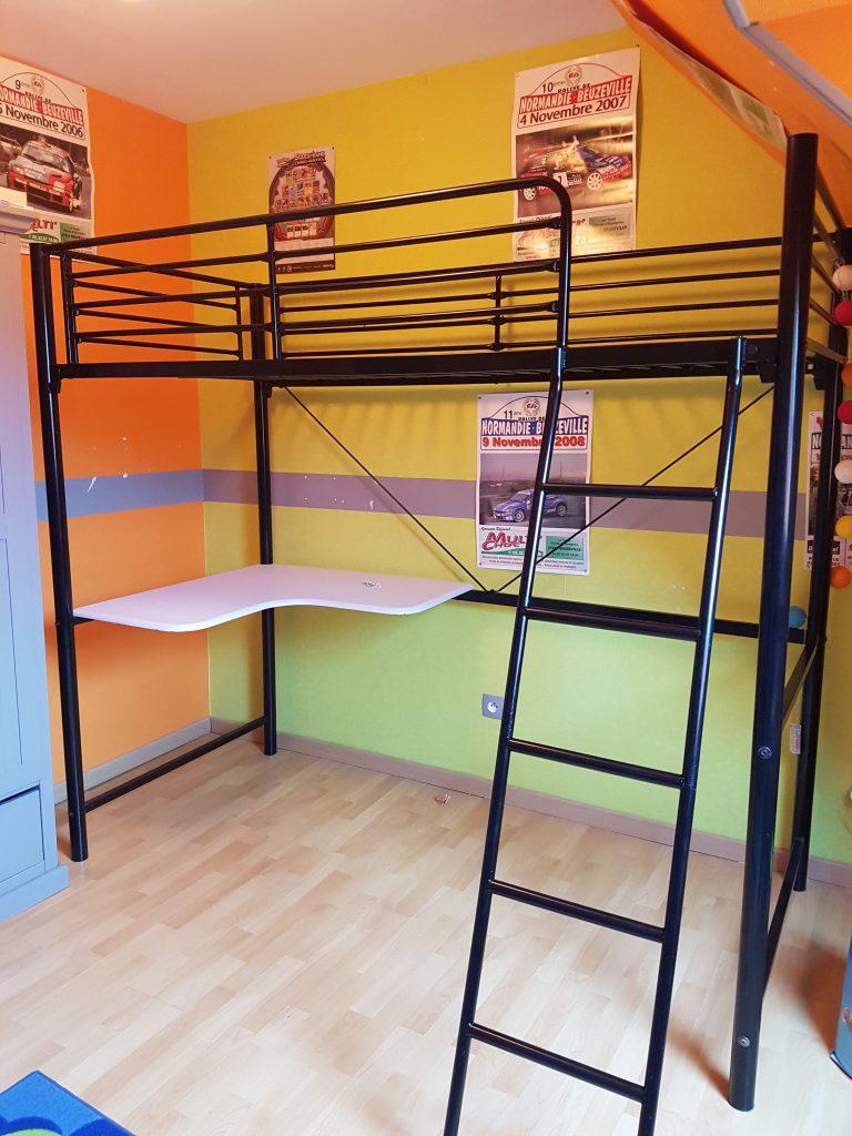 mezzanine-metal-noir-undistriel-chambre-enfant-avant-après-orange-vert-gris