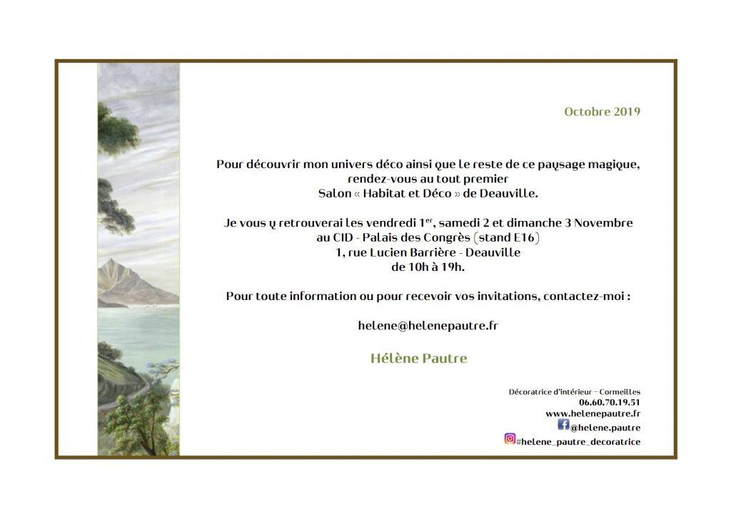 salon habitat et déco de Deauville - 1, 2 et 3 Novembre 2019
