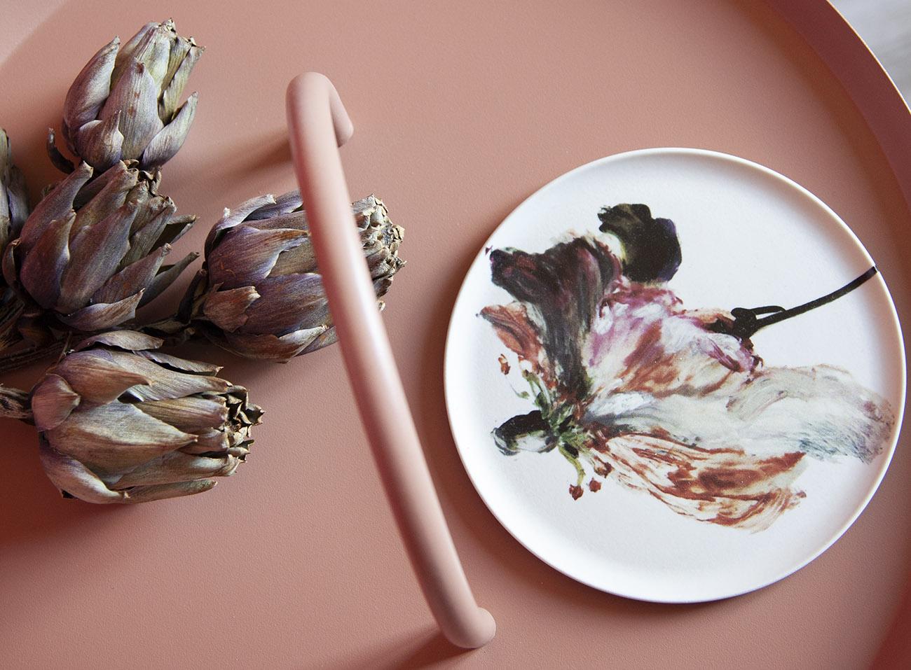 artichauts seches assiette demode